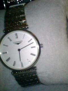 转手全新浪琴男士手表